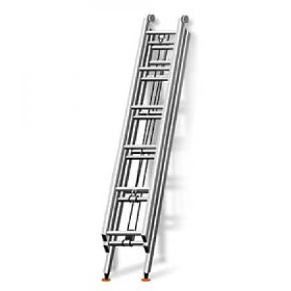Пожарная лестница 3-х коленная ЛРТМП