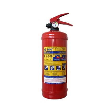 Огнетушитель ОП-2 (з) АВСЕ