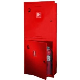 Шкаф пожарный ШПК-320 под рукав и 2 огнетушителя