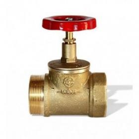 Вентиль ДУ-65, латунь прямоточный (КПЛ-65)