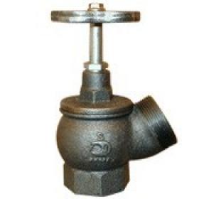 Вентиль ДУ-50, чугун угловой (РПТК)