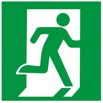 Эвакуационный знак Е 01-02