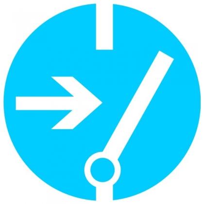 Знак предписывающий M14 Отключить перед работой