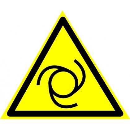 Знак предупреждающий W25 Внимание. Автоматическое включение (запуск) оборудования.